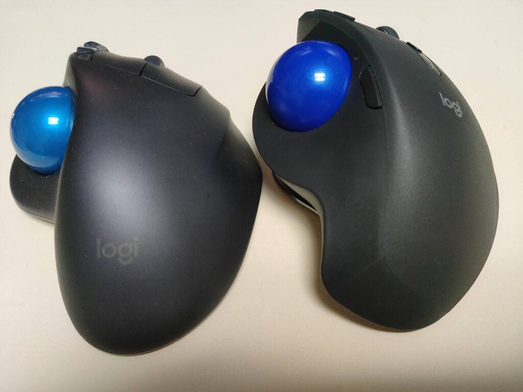 MX ErgoとM570Tの比較画像