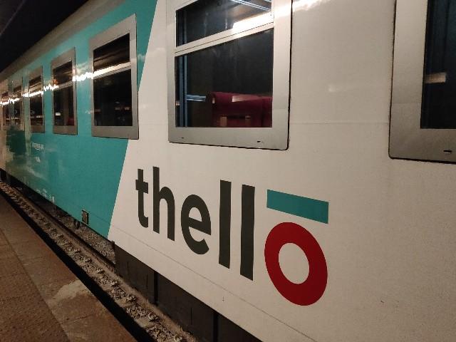 寝台列車Thello